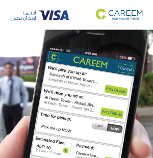 CAREEM Offer with NCB Visa Credit Cards