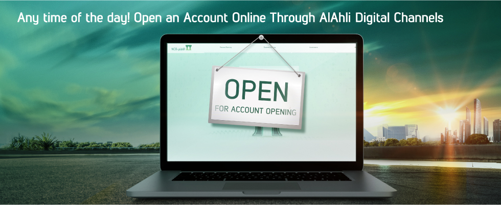 Accounts Online Account Opening